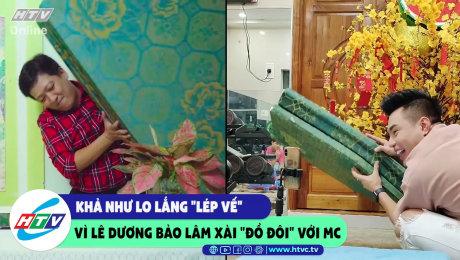 """Xem Show CLIP HÀI Khả Như lo lắng """"lép vế"""" vì Lê Dương Bảo Lâm xài """"đồ đôi"""" với MC HD Online."""